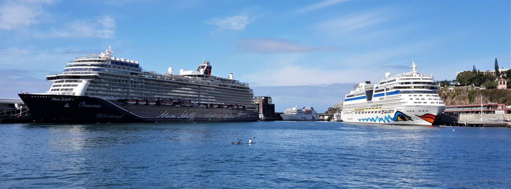 Reisen Arbeiten Kreuzfahrtschiffe