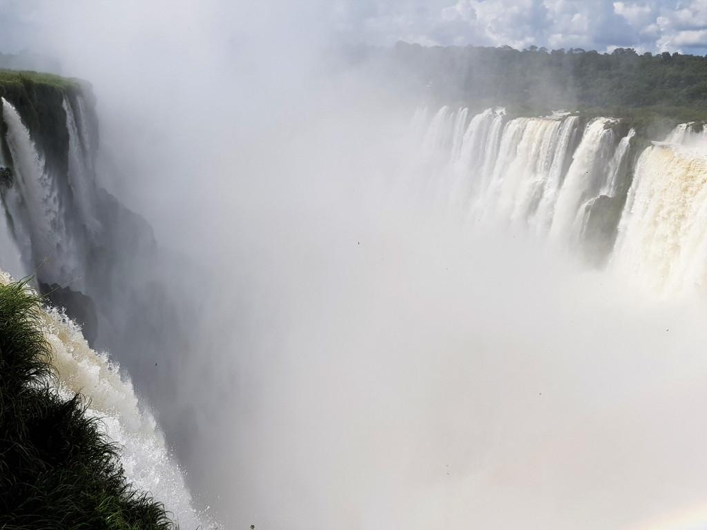 Garganta del diablo Iguazu Wasserfälle