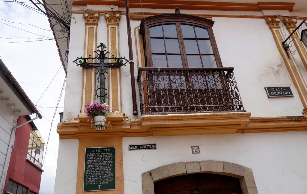 Calle Jaen Cruz Verde