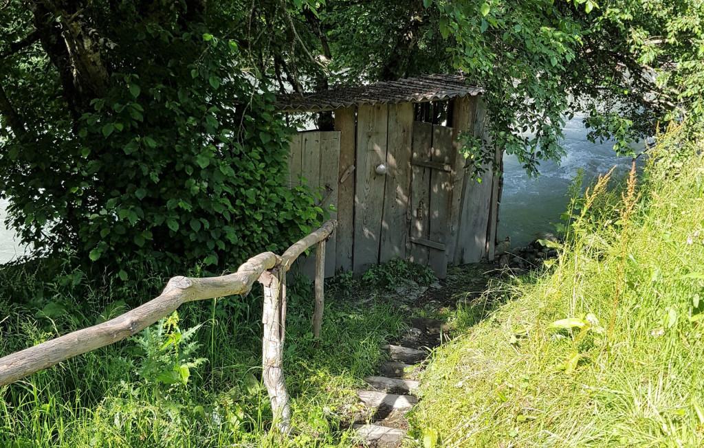 Toilette Liebesturm Swanetien