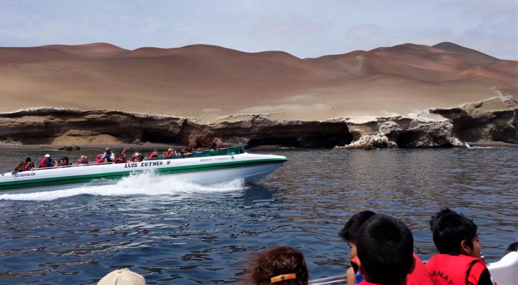 Speedboot Ballestas Inseln