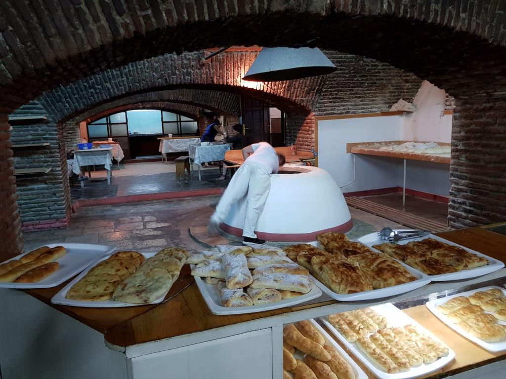 Karavanserai Bäckerei Tiflis