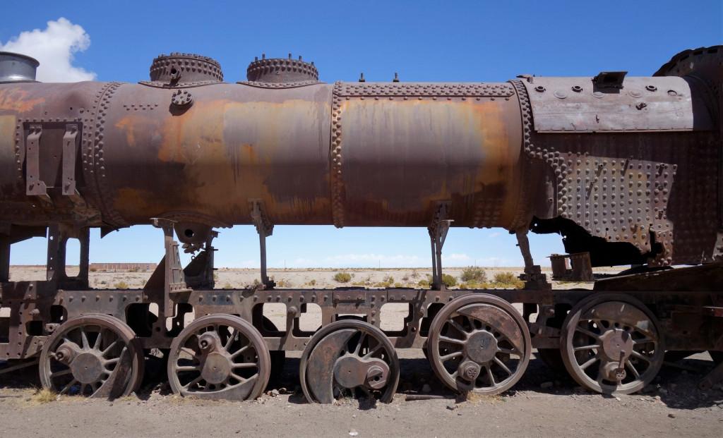 Eisenbahnfriedhof Bolivien