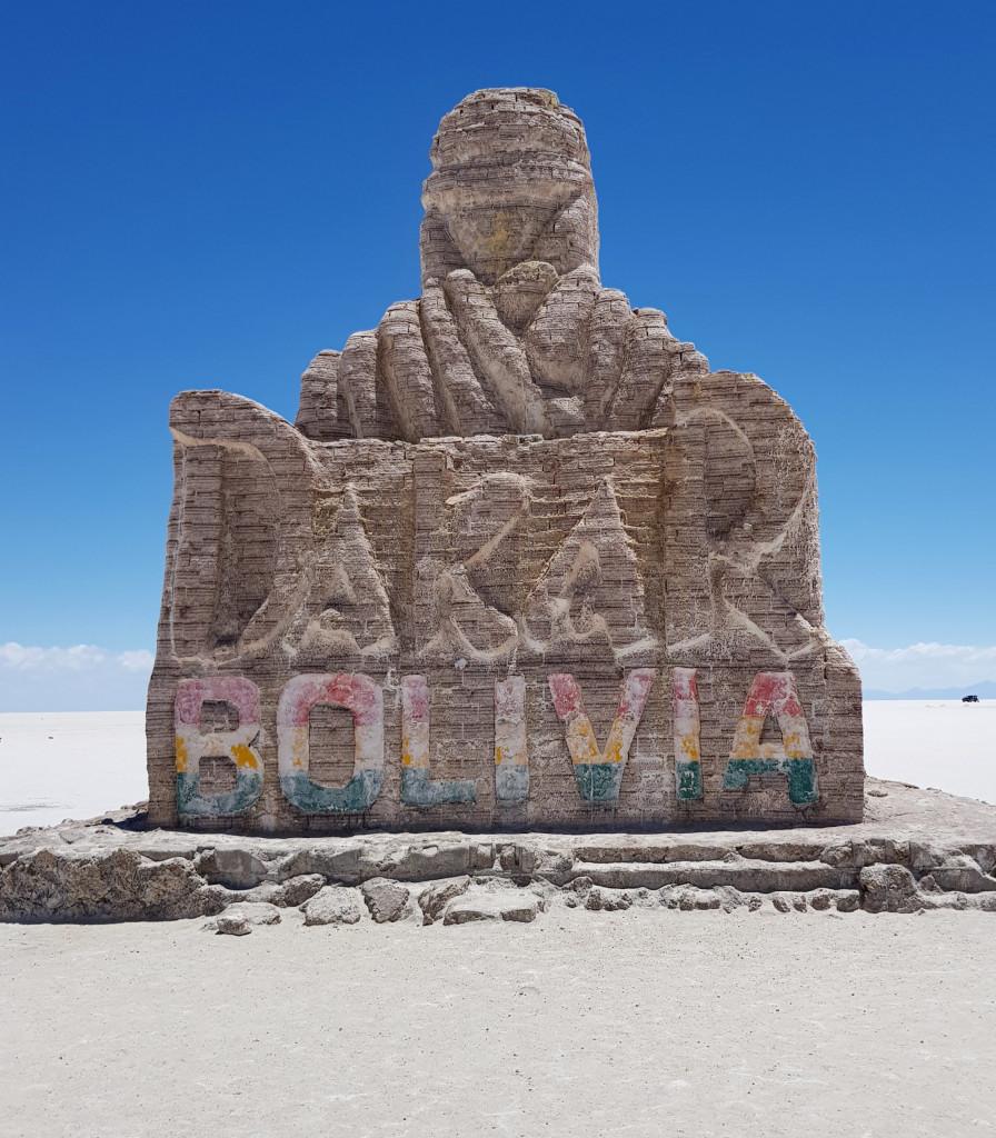 Dakar Monument Salar de Uyuni