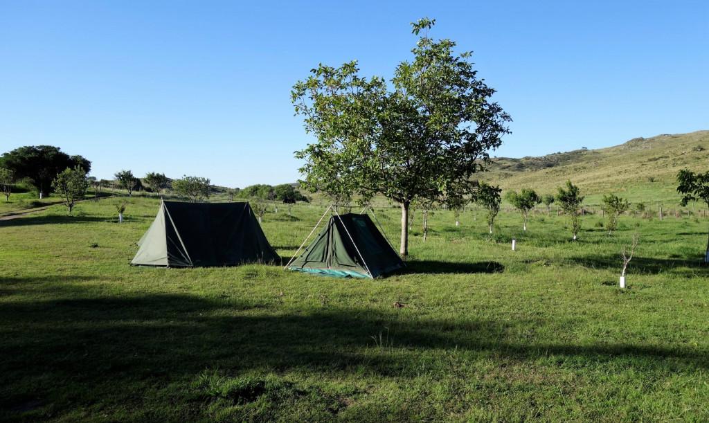 Campen in Argentinien