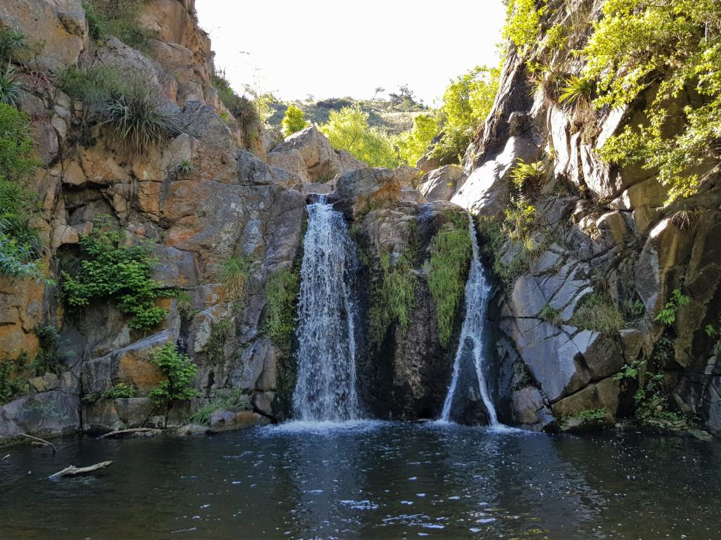 Wasserfall Estancia Los Potreros