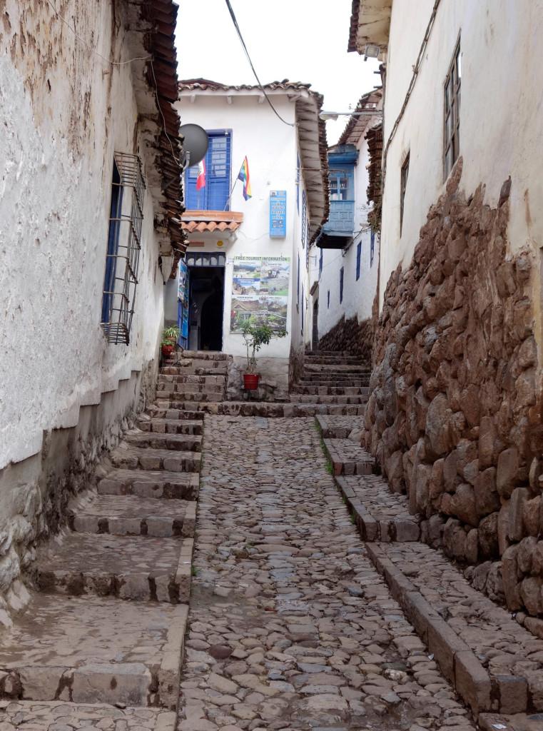 Kleine Gassen in Peru
