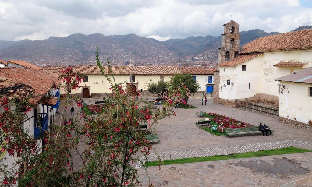 Höhenlage in Cusco