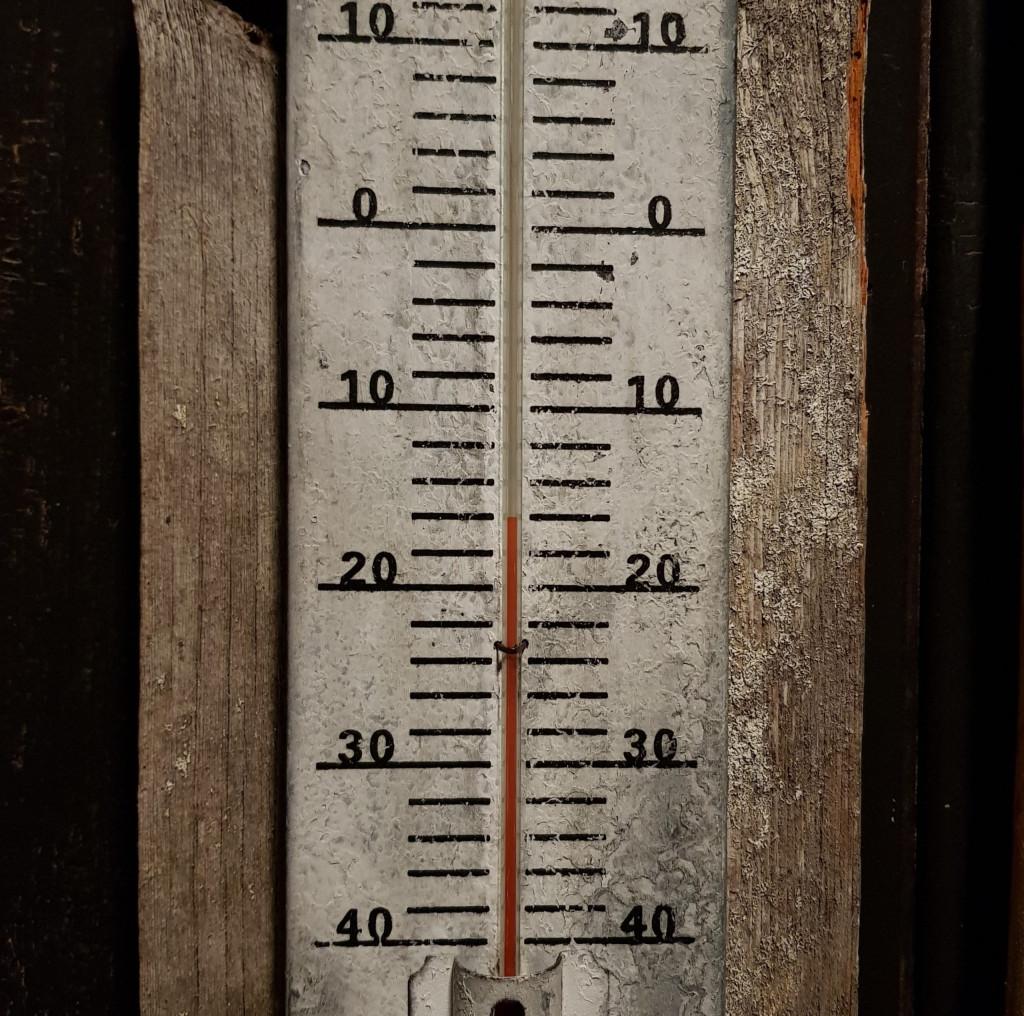 Temperaturen Lappland