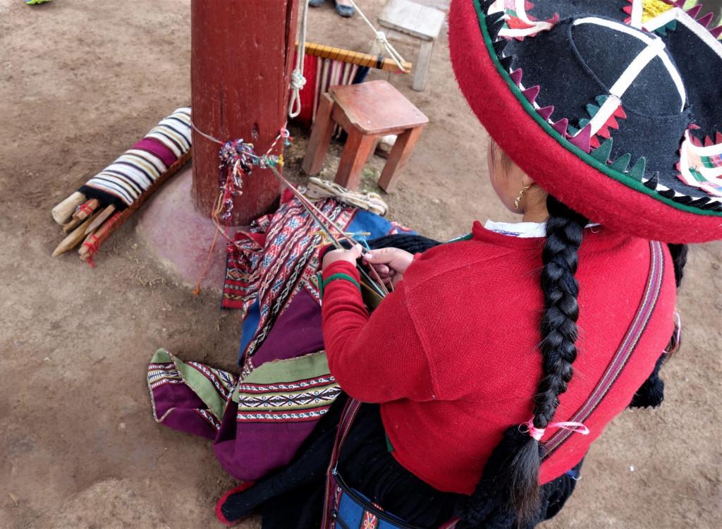 Chinchero Textilverarbeitung
