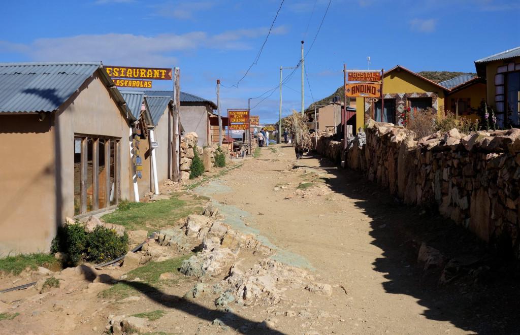 Isla del Sol Yumani Bolivien