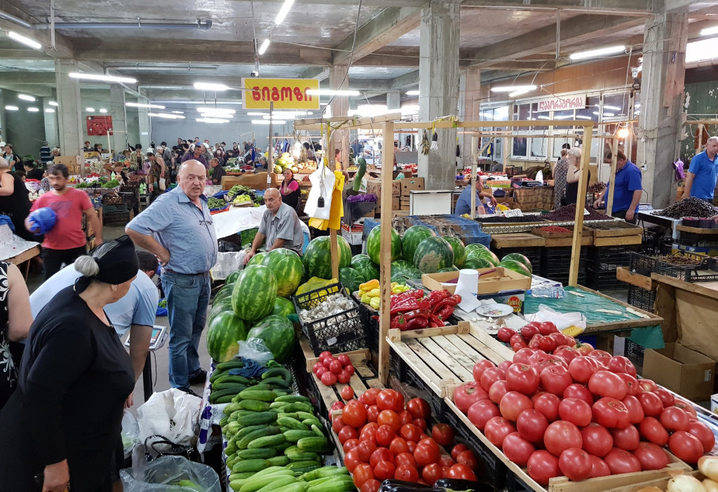Markt Kutaissi Georgien
