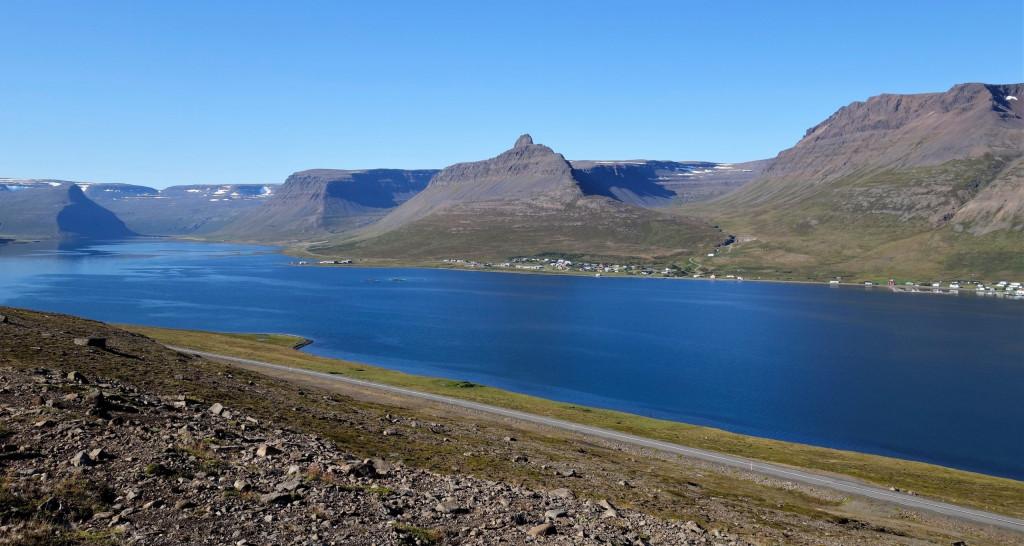 Tröd Aussichtspunkt Island