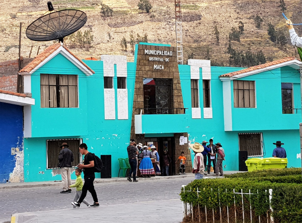 Maca Colca Canyon Peru