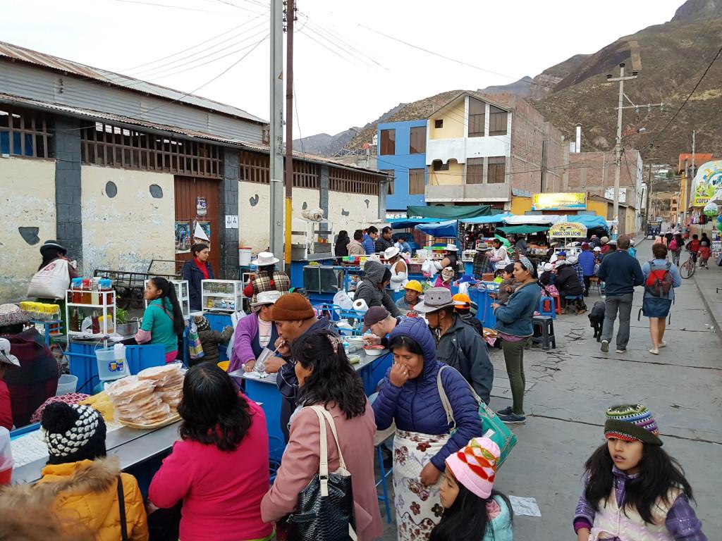 Mercado Central Chivay Peru